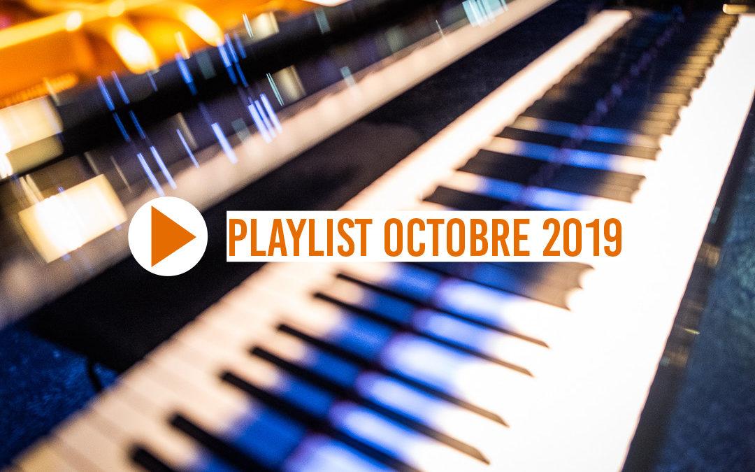 Playlist Octobre 2019
