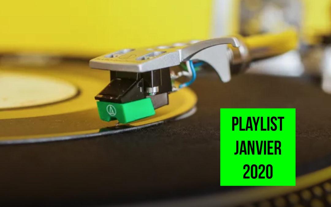 Playlist janvier 2020