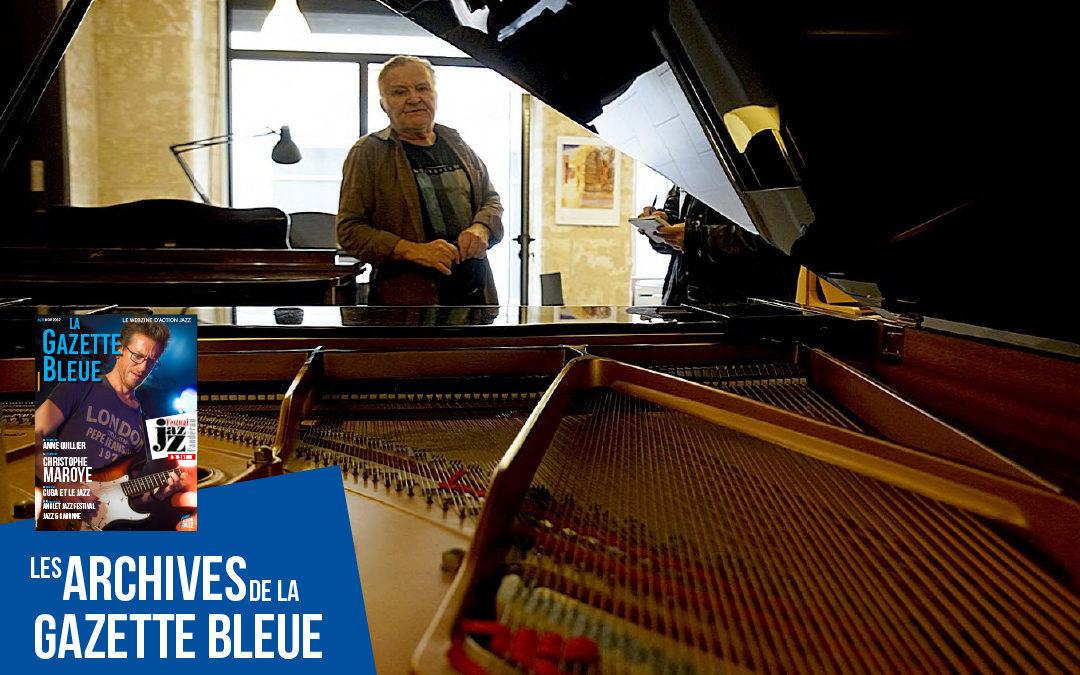 Alain Claudien, le metteur au point de pianos
