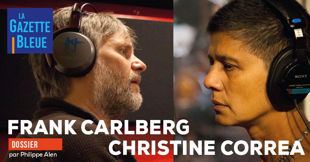 Frank Carlberg, Christine Correa